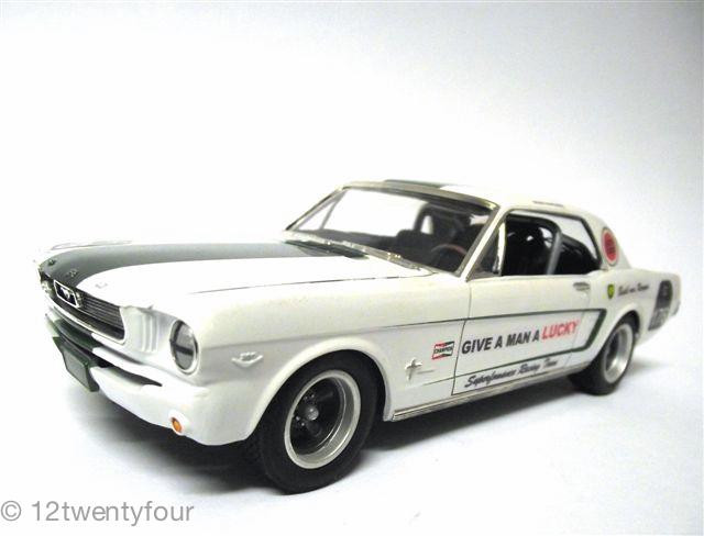 Basil Green 66 Mustang 2 (AMT)
