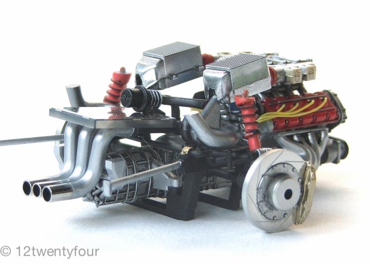 F40 Running gear
