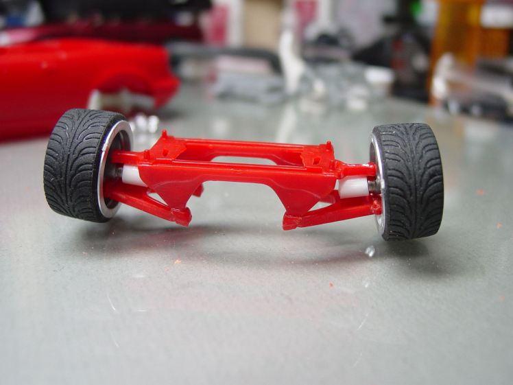 Mazda Miata suspension. Photo credit: Michael Newport.